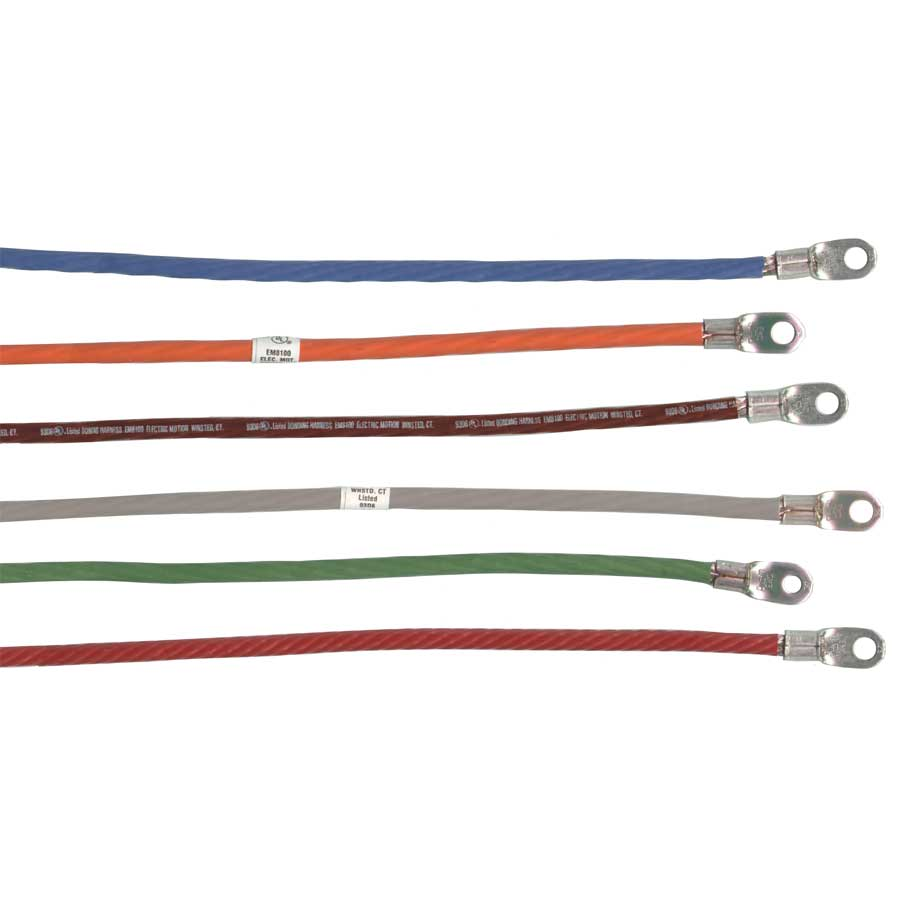 6 Awg Flexible Harnesses With Colored Insulation Em8100