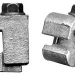 Connector for #1/0 str and #6 AWG or plain bonding ribbon.