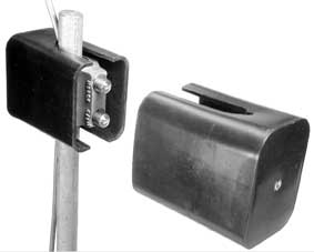 Two-Bolt Ground Rod Clamp with Gel-Filled Closure, for Ground Rings, EM2303-C